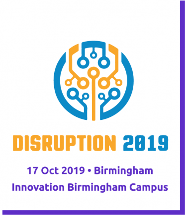 #Disruption2019-Purple Border