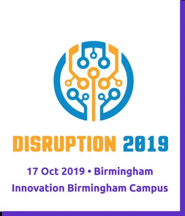 #Disruption2019-Purple Border