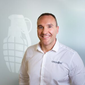Alan Barratt, Co-Founder/CEO of Grenade